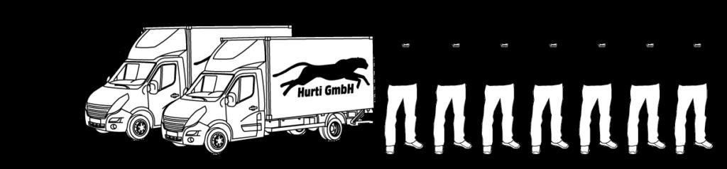 Lieferservice Umzugsfirma Hurti GmbH